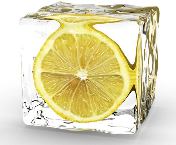 柠檬片水_